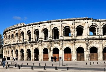The arenes on Nîmes