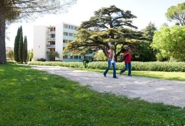 Example of student residence on University campus