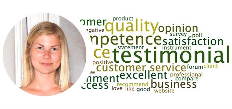 Testimonial by Beatrice (Sweden)